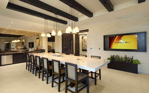 Entertainment Kitchen at Windsor at Delray Beach, Florida