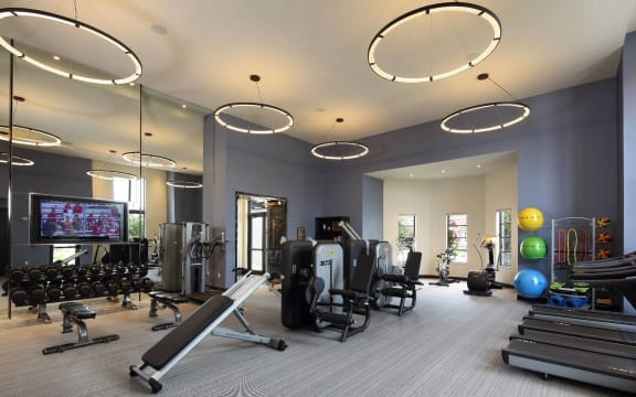24-Hour Fitness Center at Windsor at Delray Beach, Florida, 33483