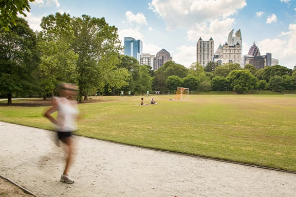 Nearby Piedmont Park and Atlanta Botanical Garden at Morningside Atlanta by Windsor, Atlanta, GA 30324