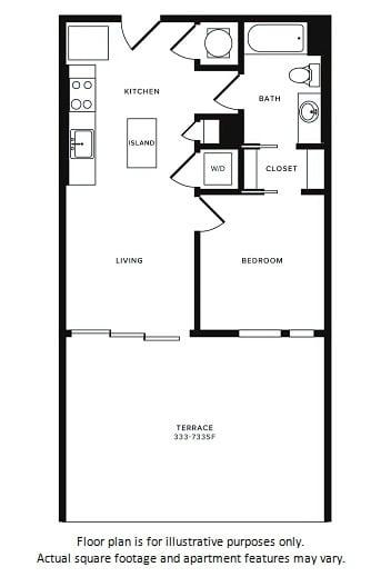 Floor Plan  Floor Plan at Morningside Atlanta by Windsor, Atlanta, opens a dialog