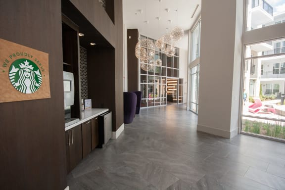 24-Hour Complimentary Coffee Bar at Morningside Atlanta by Windsor, Atlanta, GA