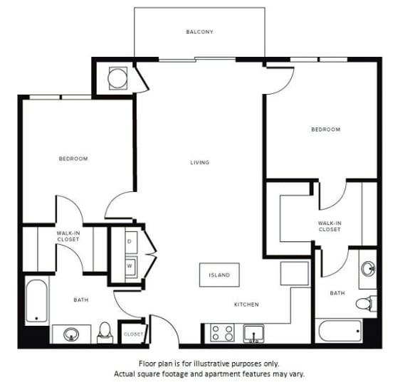 Floor Plan  Floor Plan at Morningside Atlanta by Windsor, Atlanta, GA, opens a dialog