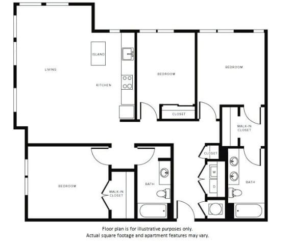 Floor Plan  Floor Plan at Morningside Atlanta by Windsor, Atlanta, GA 30324, opens a dialog
