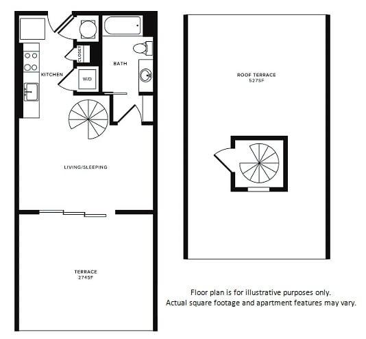 Floor Plan  Floor Plan at Morningside Atlanta by Windsor, Atlanta,Georgia, opens a dialog