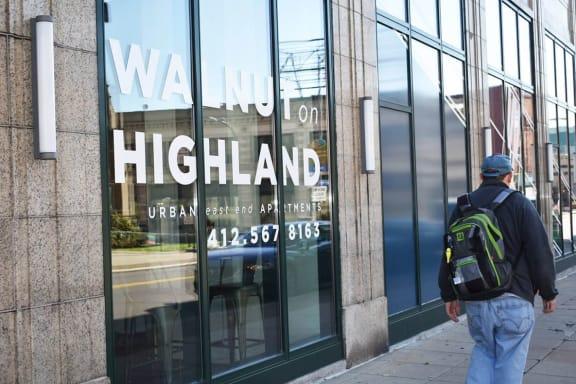 Walkable Neighborhood at Walnut on Highland, East Liberty