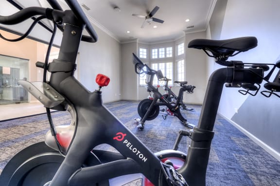 Brand New Peloton Bike Room at Carol Stream Crossing, Carol Stream, Illinois