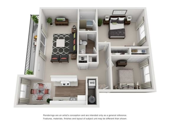 Floor plan at Canyon Park, Oregon, 97005