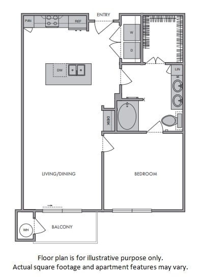 Floor Plan  C Floor Plan at Windsor Lantana Hills, Texas, 78735
