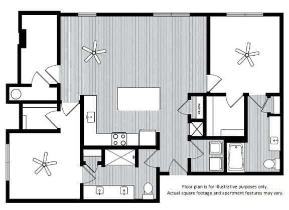 Floor Plan  Floor Plans at Windsor Republic Place, Austin