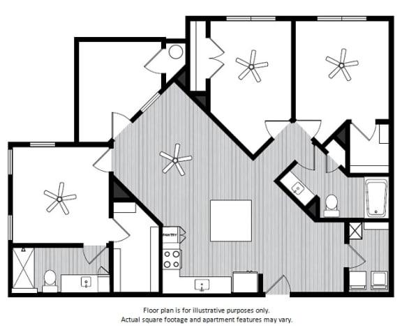 Floor Plan  Floor Plans at Windsor Republic Place, Texas