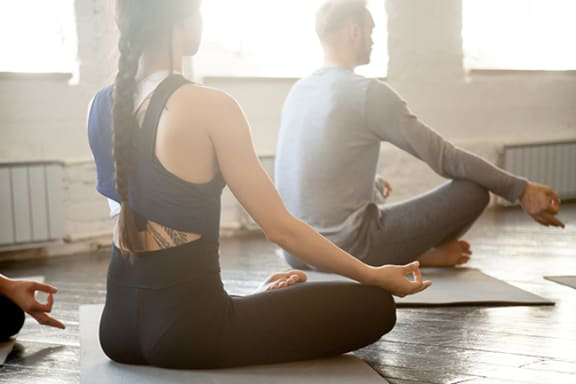 Yoga Room at Windsor Republic Place, Austin, TX