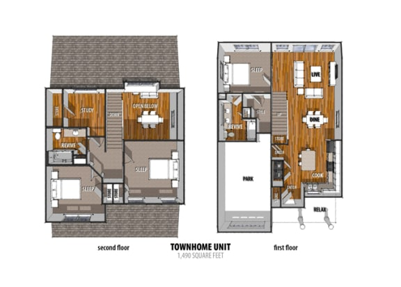 Floor Plan at La Contessa Luxury Apartments, Laredo, TX