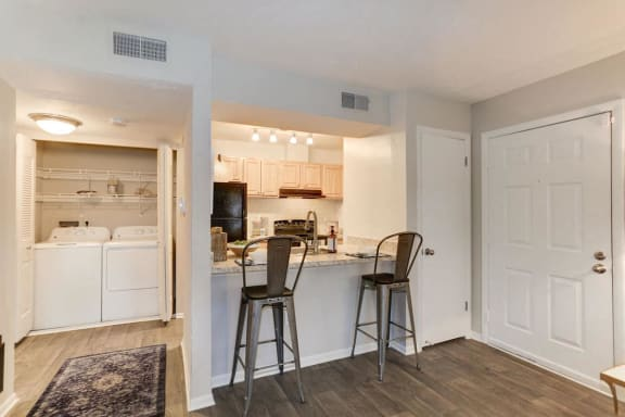 Eat-in Kitchens at The Madison at Eden Brook, Columbia, Maryland