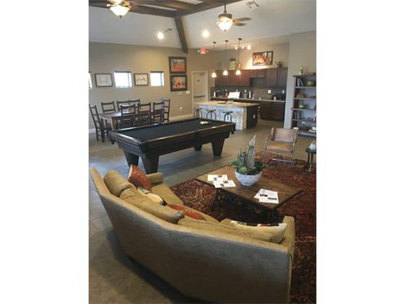 Club-room at Mesquite Terraces