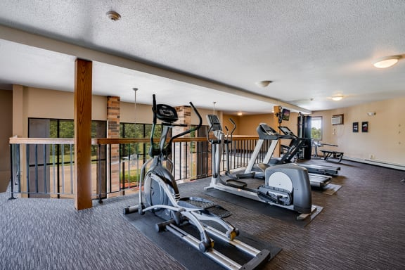 Cardio Equipment at the Garden Square Clubhouse