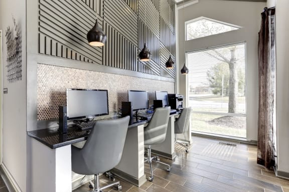 Business Center with High Speed Internet at Arborview at Riverside and Liriope, Belcamp,Maryland