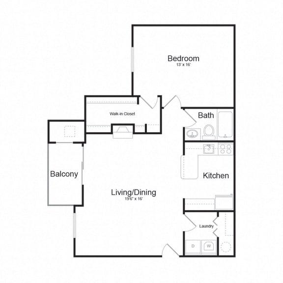 Floor Plan  Arborview 740 Floor plan at Arborview at Riverside and Liriope, Belcamp, 21017