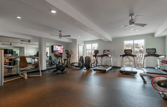 Fully Equipped Fitness Center at The Royal Athena, Bala Cynwyd, Pennsylvania