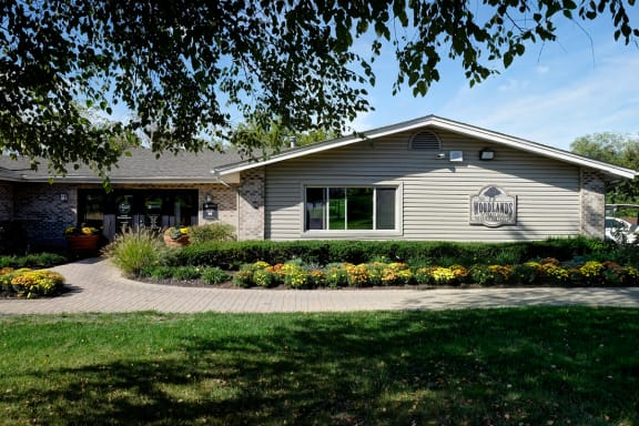 Newly Renovated Resident Clubhouse at Woodlands of Crest Hill-New, Crest Hill, 60403