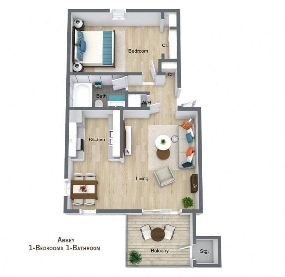 Floor Plan  Abbey