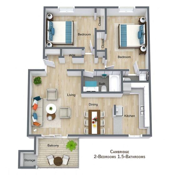 Floor Plan  Cambridge