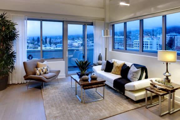 Floor Plans Designed to Allow Natural Light Flow at Berkeley Central, Berkeley