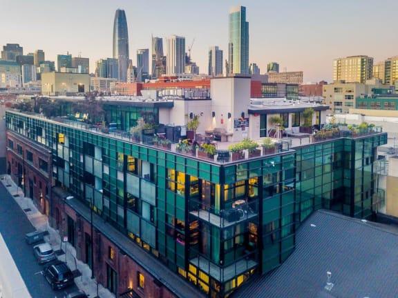 Panoramic Views of Downtown at Arc Light, San Francisco, 94107