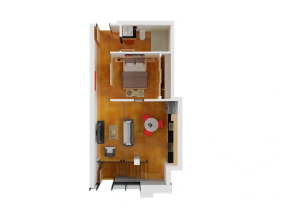 Floor Plan  Floor plan at Arc Light, San Francisco,California