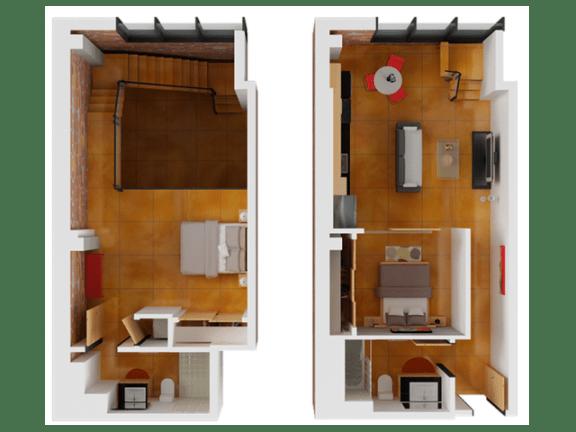 Floor plan at Arc Light, California, 94107