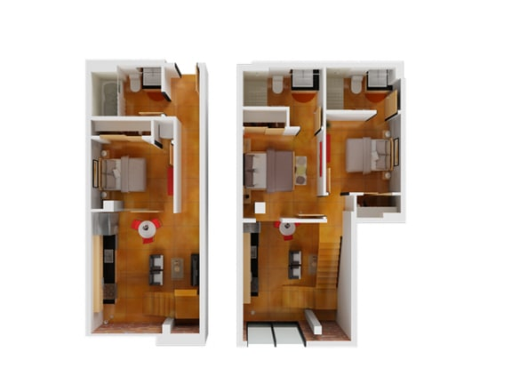 Floor Plan  Floor plan at Arc Light, San Francisco, CA 94107