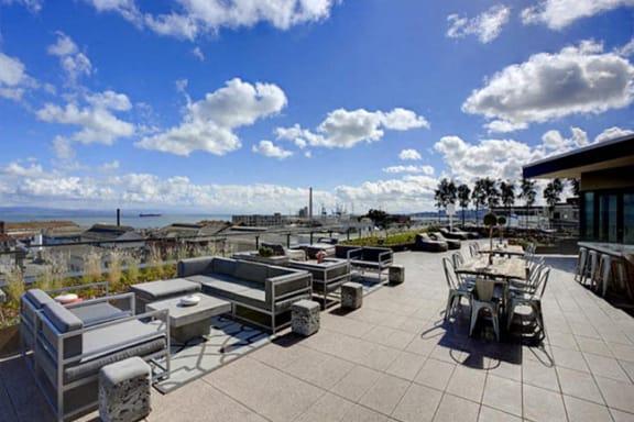 Rooftop Deck at Potrero Launch, San Francisco, CA 94107