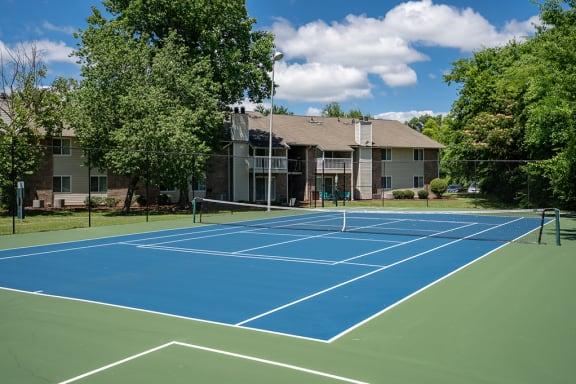 On-Premise Tennis Court