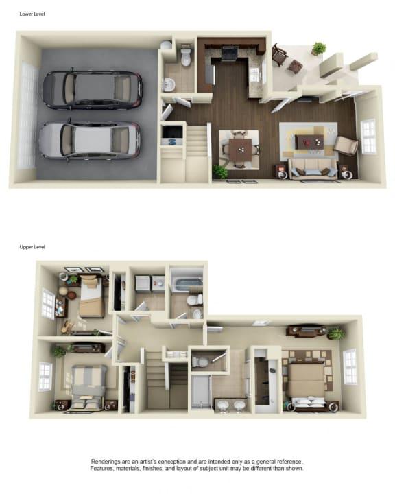 Plan 1 - 3D