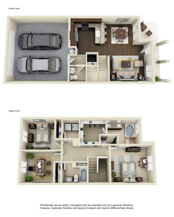 Plan 2 - 3D