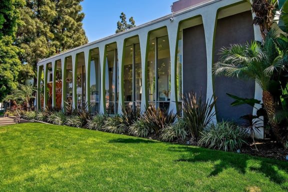 Front Entrance Of Community at Parc at 5 Apartments, California, 90240