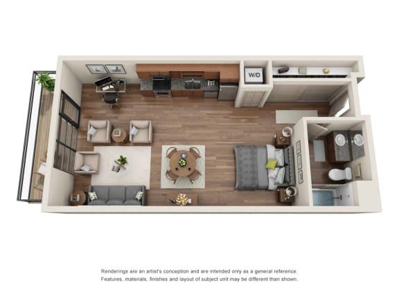 Floor Plan  Equinox|Studio