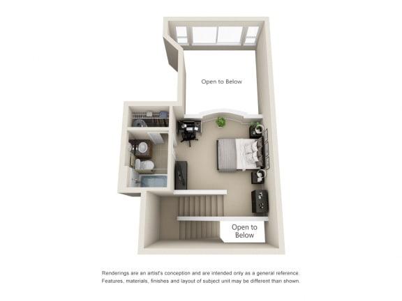 3 Bedroom Penthouse - 2nd Floor