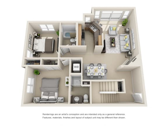 3 Bedroom Penthouse - 1st Floor