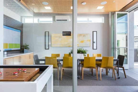Clubhouse with Upgraded Interiors at Elan Menlo Park, California, 94025