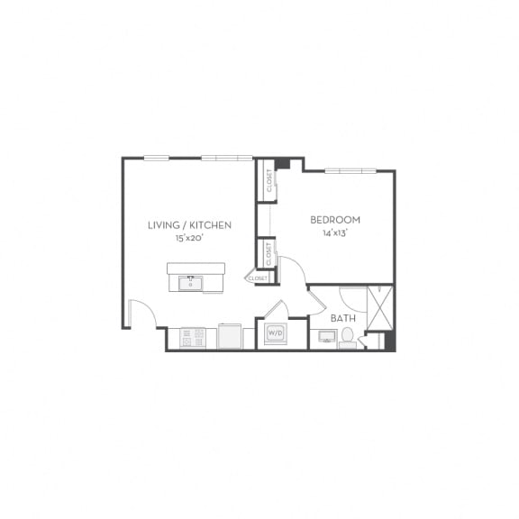 Floor plan at Elan Menlo Park, Menlo Park, CA, 94025