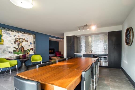 Executive Conference Room at Liv Apartments, Washington