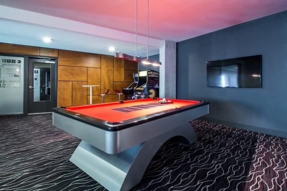 Pool Table at Liv Apartments, Washington, 98007