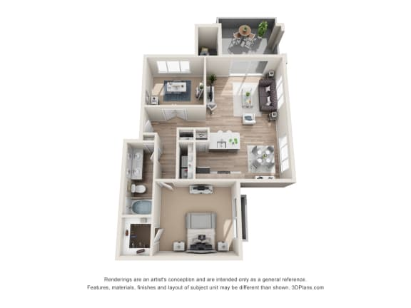 the classic A2 floorplan