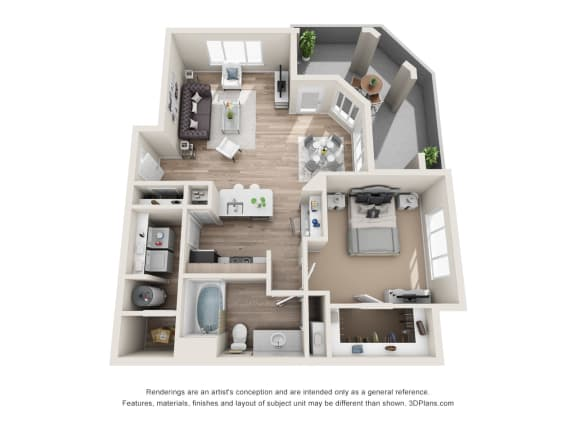 the excellence A3 floorplan