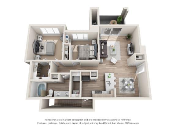 the impeccable b4 floorplan