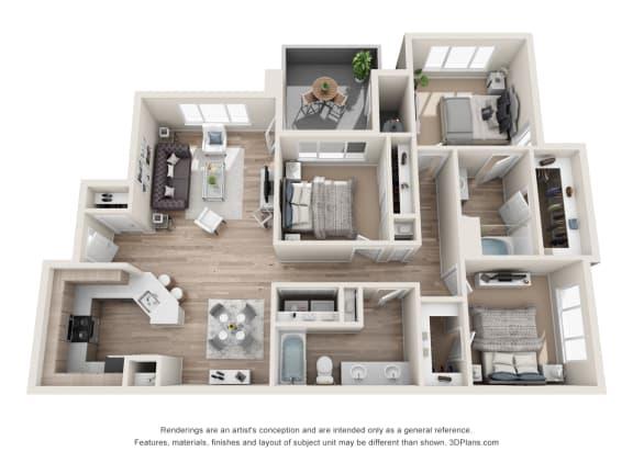 the perfection c1 floorplan