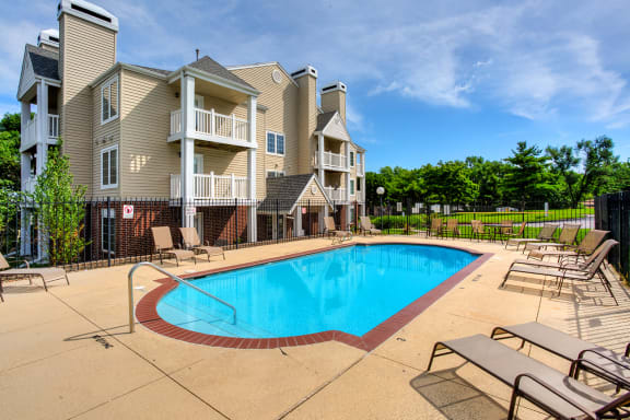 Spacious Sundeck at Outdoor Pool