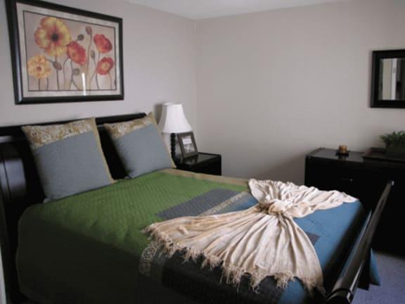 Bedroom at SunVilla Resort Apartments in Mesa, AZ