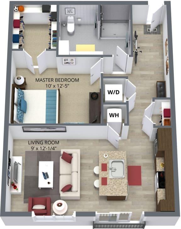 The burdock floor planby The Aster