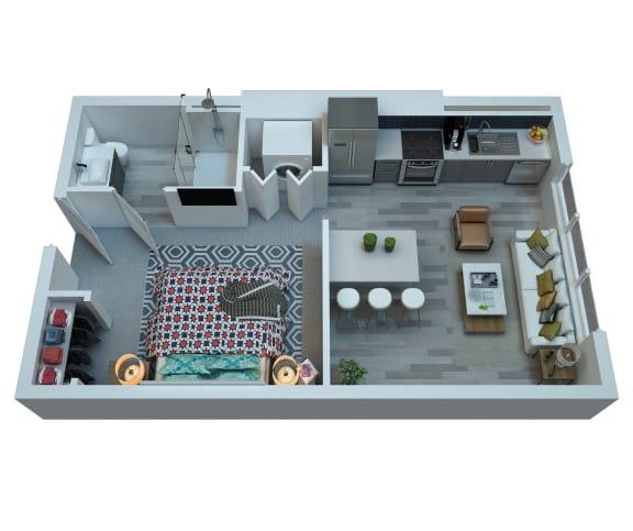 Floor Plan  The Stewart Studio Floor Plan - Ronstadt, opens a dialog